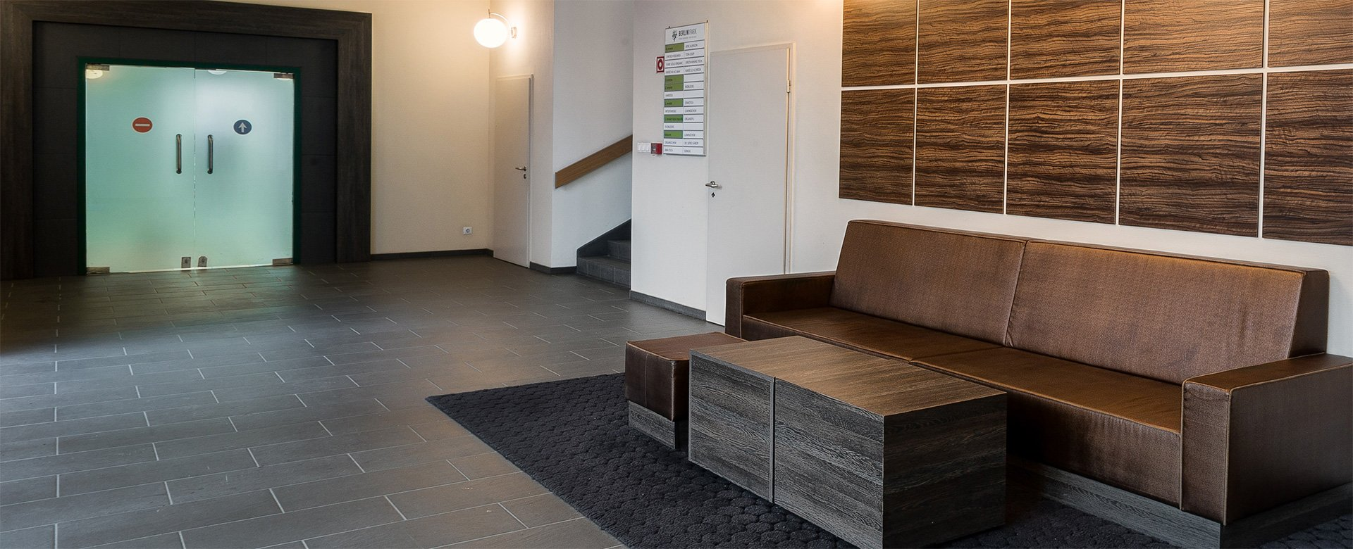 Berlini Park 3-as épület lobby helyiség